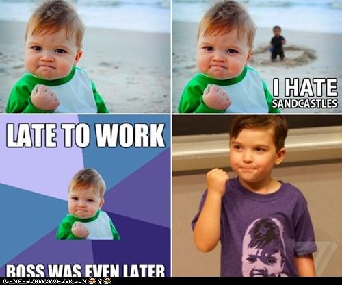 Success Kid at ROFLcon