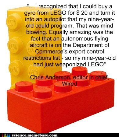 Damn LEGO, Always Making Crazy Weapons!