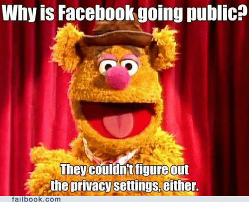 Failbook: Facebook Doesn't Know HOW to Be Private!