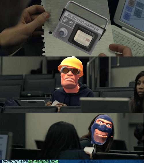 engineer,gear,meme,move up,sapper,spy