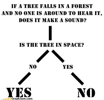 best of week,flow chart,if a tree falls in the fo,sound,space