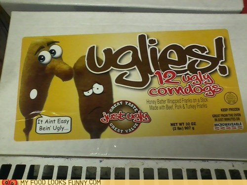 corndogs,gross,uglies,ugly