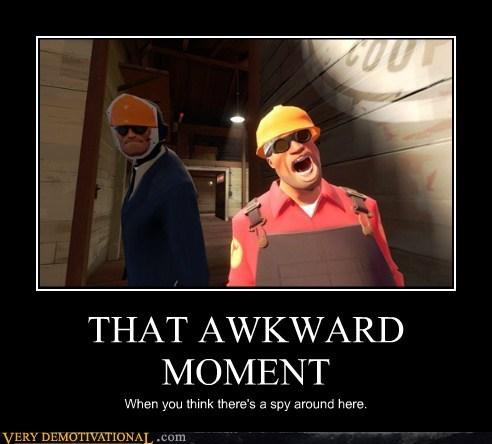 Awkward,creepy,hilarious,spy