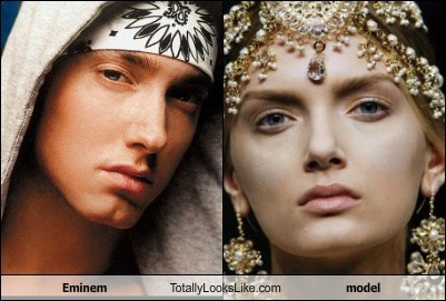 Eminem Totally Looks Like This Model
