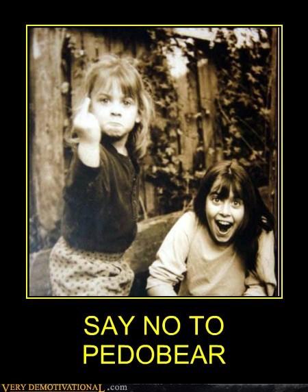 finger,hilarious,kids,no,pedobear,wtf