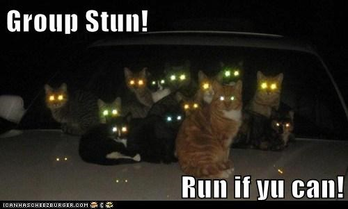 Group Stun!  Run if yu can!
