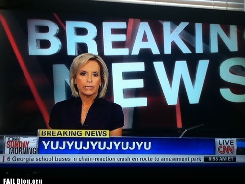 FAIL Nation: Breaking News FAIL