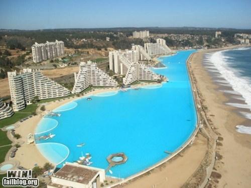 World Record Swimming Pool WIN
