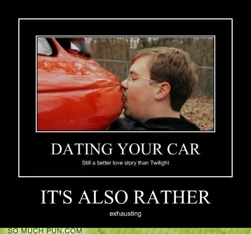 car,dating,double meaning,exhausting,Hall of Fame,literalism