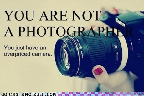 You're Someone With a Camera