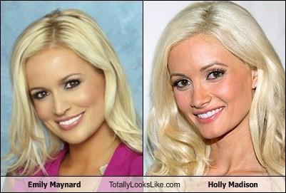 Emily Maynard Totally Looks Like Holly Madison