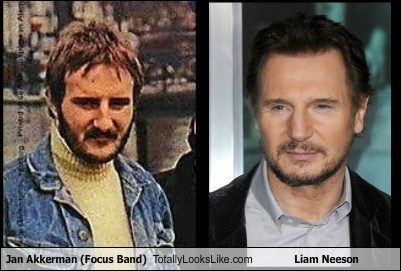 Jan Akkerman (Focus Band) Totally Looks Like Liam Neeson