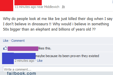 What If Dinosaurs Didn't Believe in You, Either?