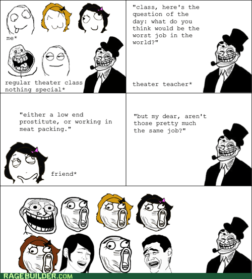 Rage Comics: Would You Rather Ship or Receive the Meat?