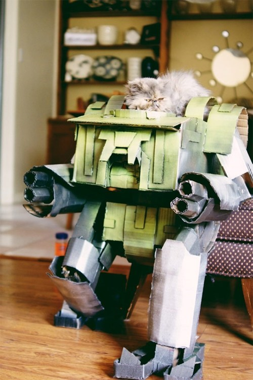 Mecha Cat of the Day