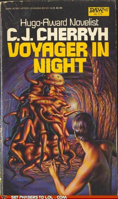 WTF Sci-Fi Book Covers: Voyager in Night