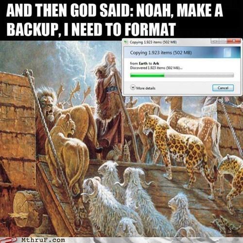 bible,biblical,dinosaurs,g rated,god,monday thru friday,noah,noahs ark,the flood