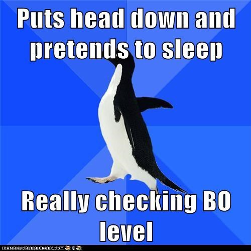 Socially Awkward Penguin: Master of Subtlety