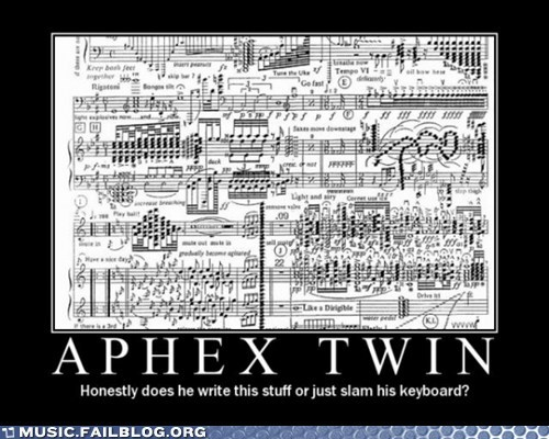 Aphex Twin,classical music,score