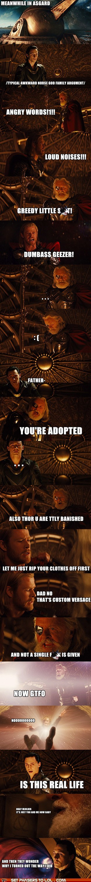 Family Drama in Asgard