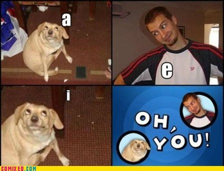 Oh, Vowels