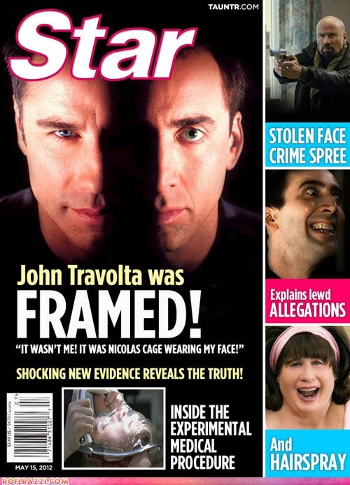 John Travolta is Being Framed!