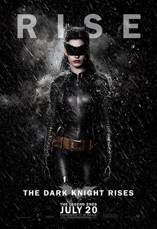 Dark Knight Rises Character Posters of the Day