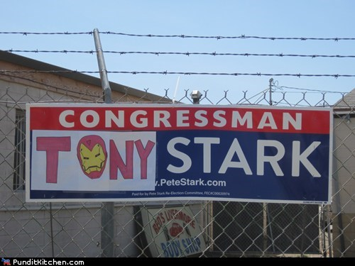 Tony Stark for Congress