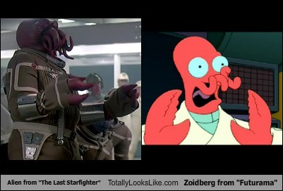 "Alien from ""The Last Starfighter"" Totally Looks Like Zoidberg from ""Futurama"""