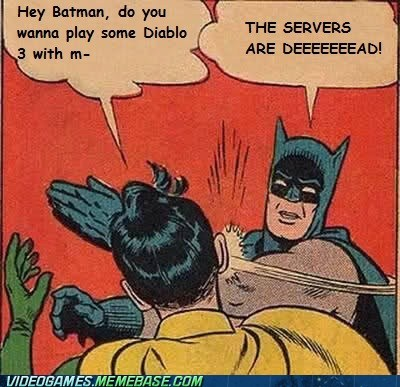 There's a Problem When Batman Can't Login
