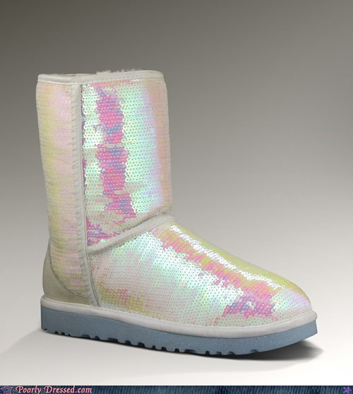 Uggs. For Your Wedding. Ponder For That a Moment.