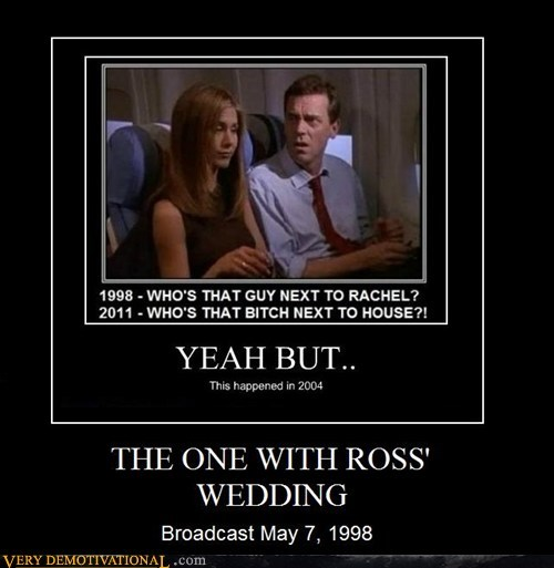 THE ONE WITH ROSS' WEDDING