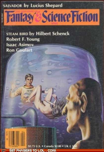 WTF Sci-Fi Book Covers: Steam Bird