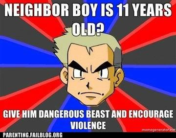 dangerous beast,neighbor boy,Pokémon,voilence