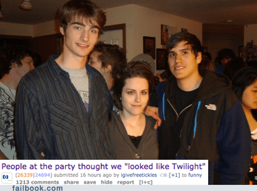 Party,Reddit,totally looks like,twilight
