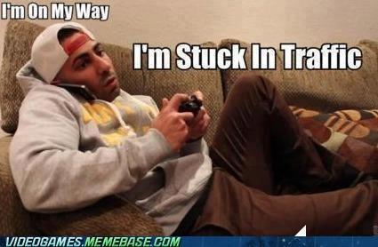 boyfriend,gamer,gaming,liar,meme,stuck in traffic