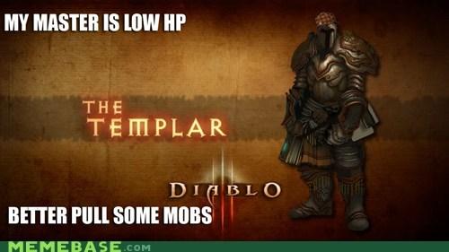 diablo,diablo III,mobs,scumbag,templar