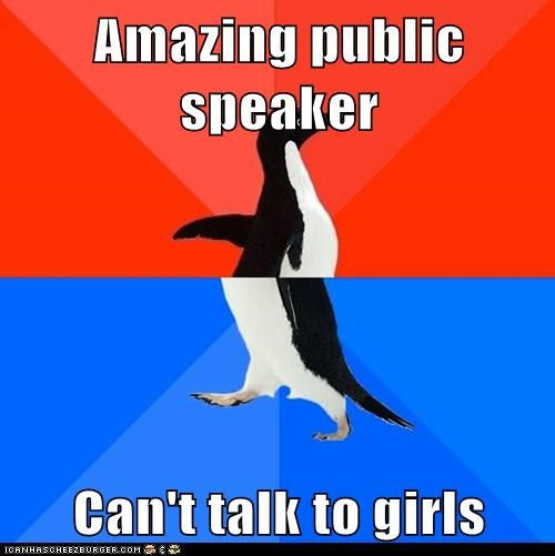 Socially Awkward Penguin: Imagining Her Naked Doesn't Help