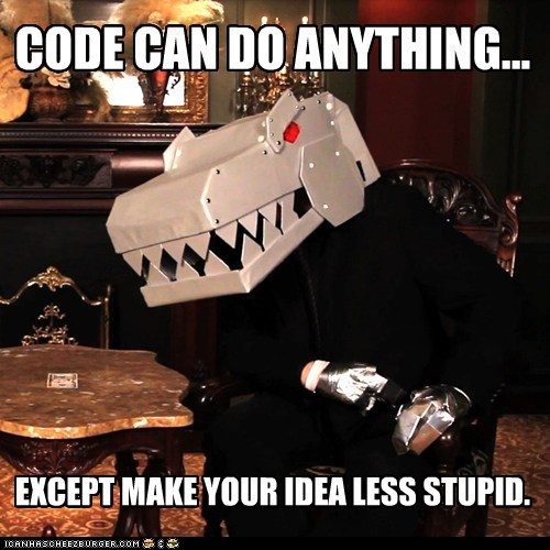 CODE CAN DO ANYTHING...