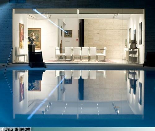 Swim-Up Dining Room