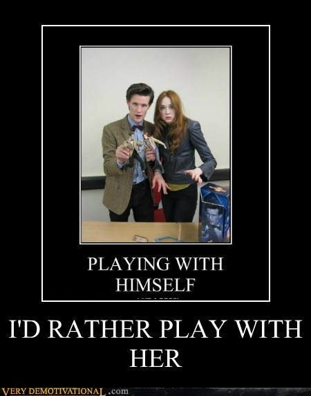 I'D RATHER PLAY WITH HER