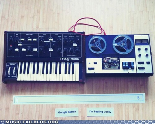 Moog Doodle Steps Out of Google