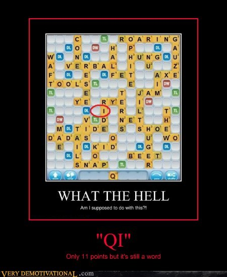 hilarious,qi,word,Words With Friends