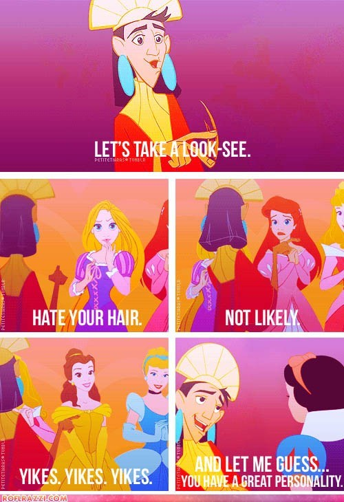 Kuzco Finds His Inner Tyra Banks