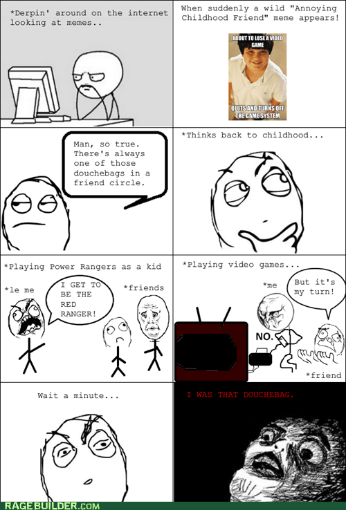 Rage Comics: No Wonder I'm Alone