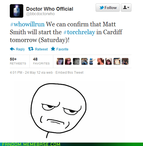 Matt Smith, Really?