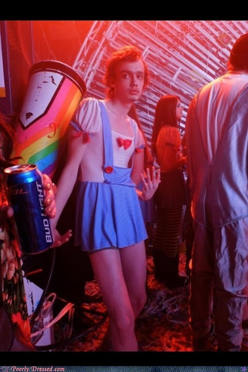 acid,bad trip,costume,cross dress,dress