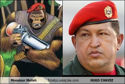 Monsieur Mallah Totally Looks Like HUGO CHAVEZ