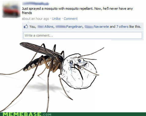 The Forever Alone Mosquito