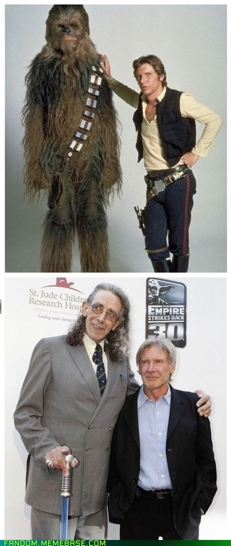 Chewie,han,IRL,It Came From the,It Came From the Interwebz,old,scifi,star wars